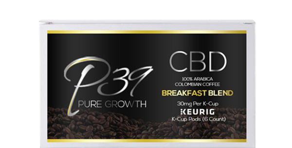 CBD Organic Colombian Arabica Keurig K-Cups  - 30mg / 6ct