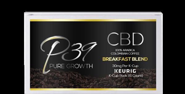 CBD Organic Colombian Arabica Keurig K-Cups  - 30mg / 6ct
