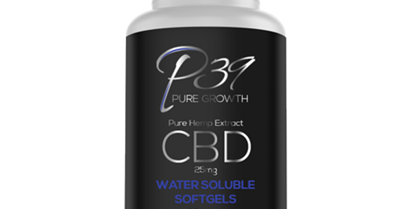 CBD Full Spectrum Water Soluble Nano Softgels - 25mg
