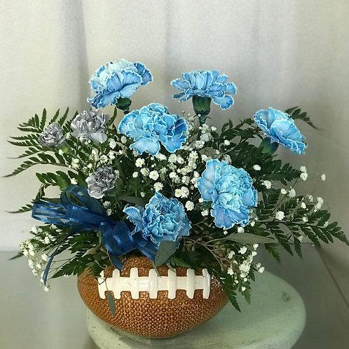 FLOWERS & FOOTBALL