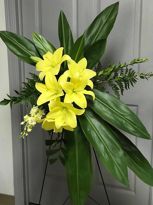 LILIES STANDING SPRAY