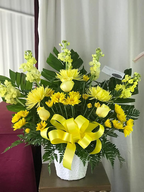 ALL YELLOW BOUQUET