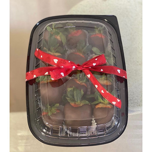 CHOCOLATE COVERED STRAWBERRIES (12-PLAIN)