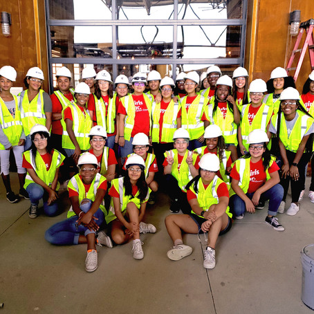 Riveting Young Women in Construction