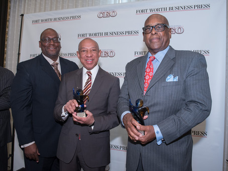 Gerald Alley & Joe Breedlove to be recognized in the 2016 Minority Leaders in Business Awards
