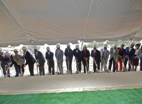 Texas Southern University Library Learning Center Groundbreaking