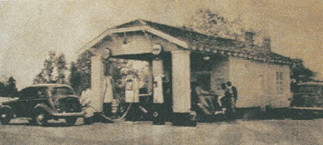 Alley Service Station
