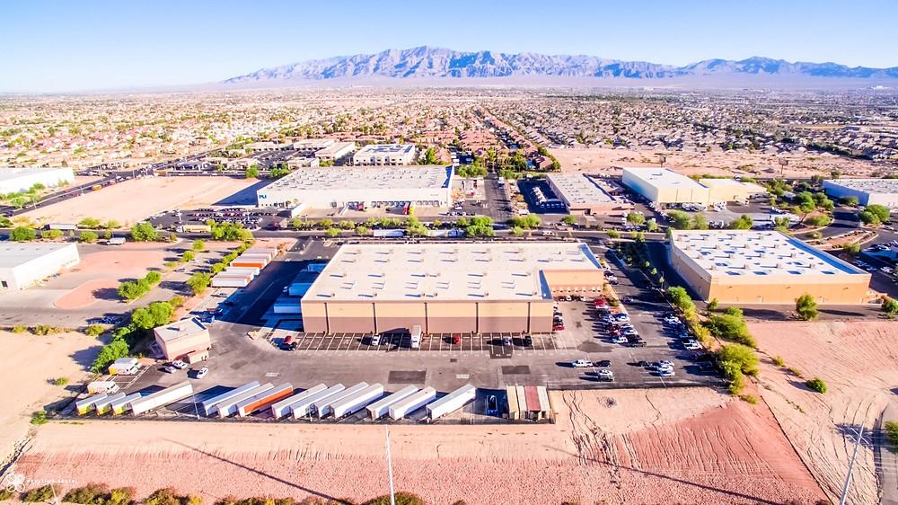 Frito Lay Warehouse aerial view