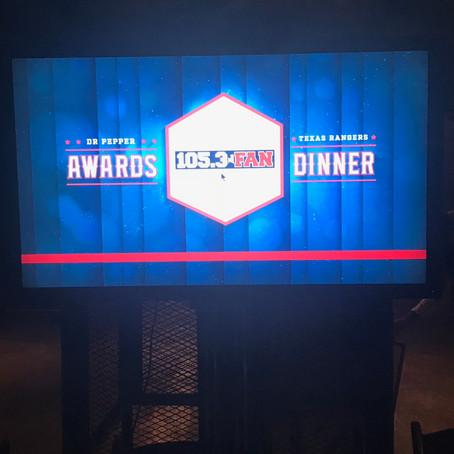 2018 Dr. Pepper Texas Rangers Awards Dinner at Gilley's