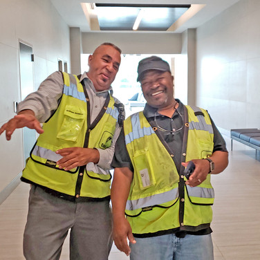The Dionne Bagsby Subcourthouse team is wrapping up work on the project.