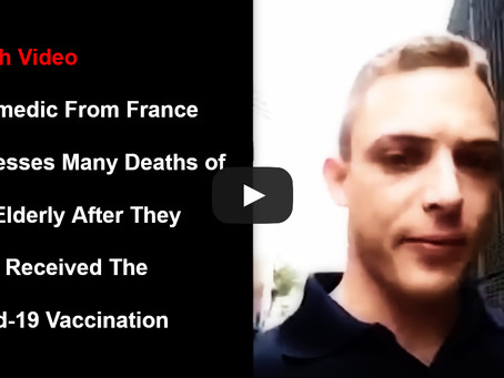 The Elderly Are Being Murdered With Covid-19 Vaccine