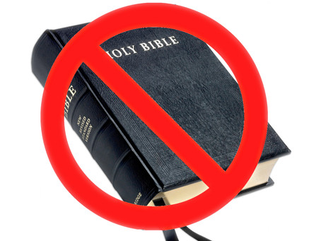 Bibles Will Be Banned