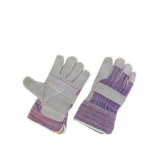 LEATHER SAFETY CUFF GLOVES