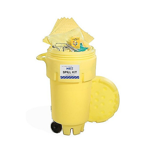 50 GALLON WHEELIE OVERPACK KIT HAZMAT