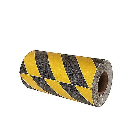 BLACK & YELLOW GRIP-TRACT ROLL
