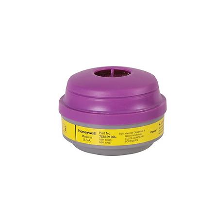 NORTH® ORGANIC VAPOR & ACID GAS CARTRIDGE & P100 FILTER COMBO