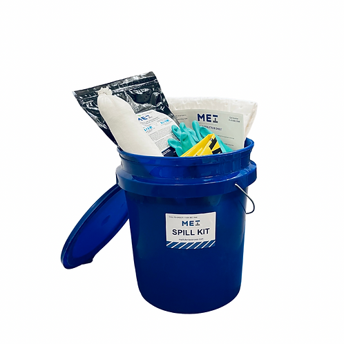 SPILL KIT IN A 5 GAL. PAIL OIL-ONLY