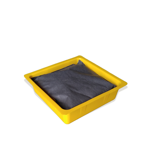 """10 x 10 x 3"""" DRIP PAN WITH ABSORBENTS"""