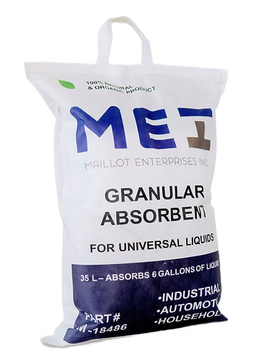 MEI GRANULAR ABSORBENT 35 L BAG