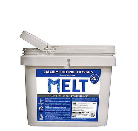 25 LB ICE MELT BUCKET W/SCOOP