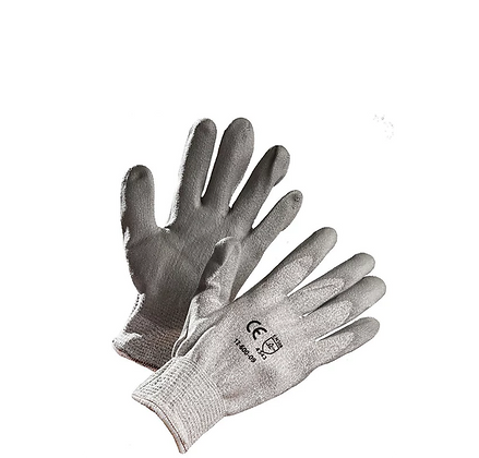 HPPE LINED CUT RESISTANT GLOVES