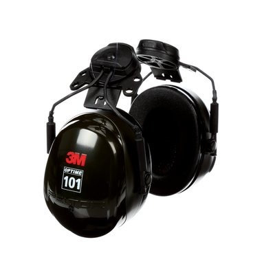 3M™ PELTOR™ OPTIME 101 CAP-MOUNT EARMUFFS