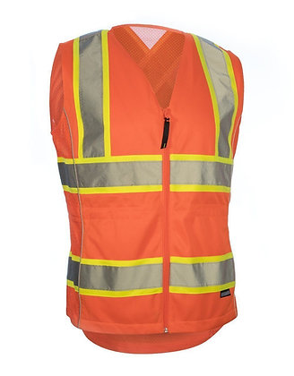 WOMEN'S CSA FITTED SAFETY VEST
