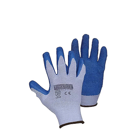 STRING KNIT LATEX COATED GLOVES