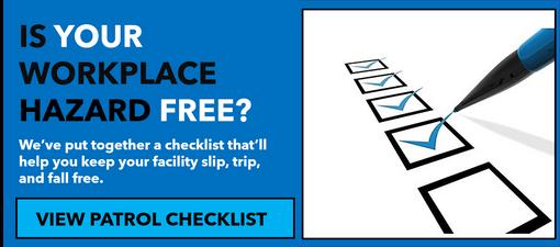 Slip Trip and Fall checklist