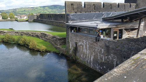 Visitor Centre, Caerphilly Castle.