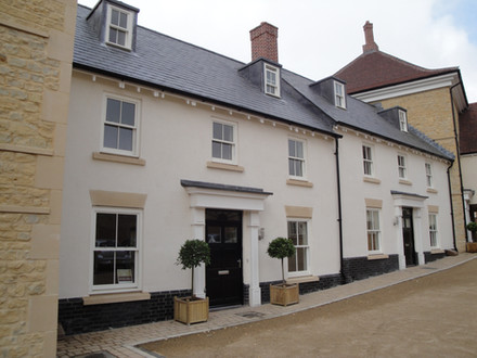 New Build Homes, within grounds of Grade I Sherborne House.