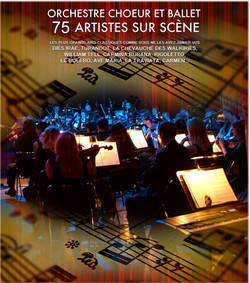Tchaïkovski Symphonic Chœur &Orche