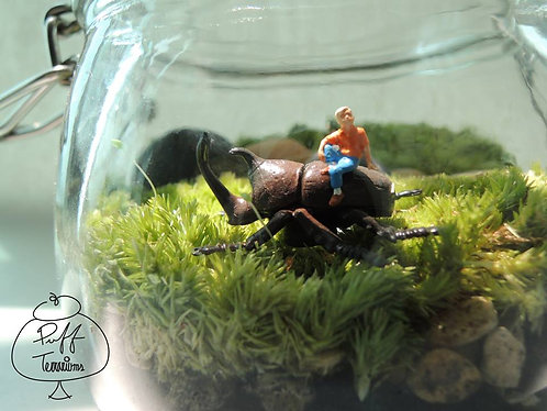 RIDING THE BEETLE