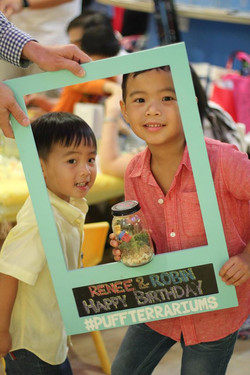 KIDS BIRTHDAY TERRARIUM PARTY
