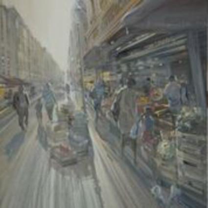 Rue Montorgueuil 70x70cm