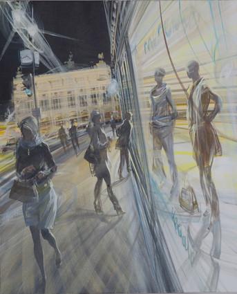 L'Opéra la nuit 73x60cm