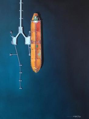 ENTRE CIEL & ANTIFER 81x60cm