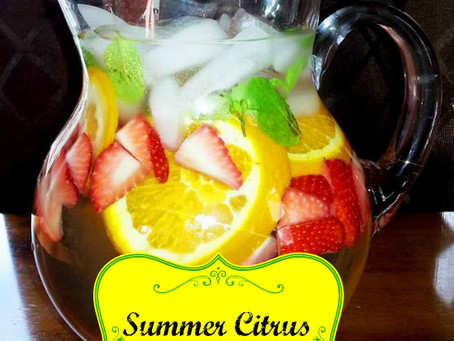 Summer Citrus Energy Infusion