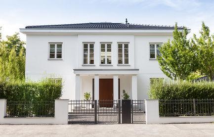 Haus gestrichen und versiegelt bei Hamburg