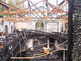 Fire Damage - Before