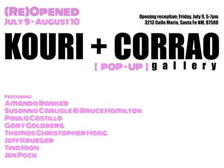Kouri + Correo (Re)Opened Pop-up Gallery