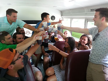 brewery tour bus