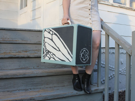 UPCYCLED VINTAGE SUITCASE