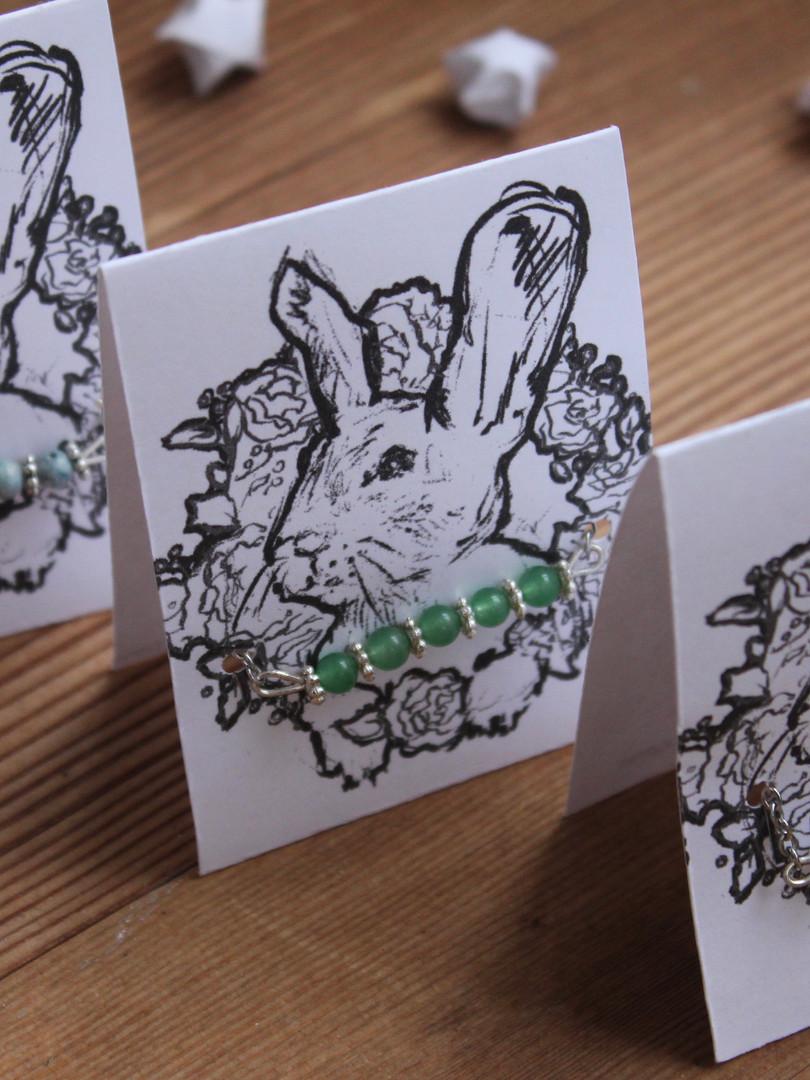 'Beaded Choker Bunny' Package Design