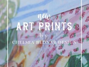 New Art Prints on Etsy!