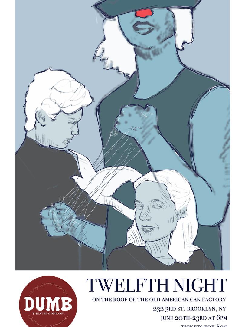 DUMB Theatre Twelfth Night Poster