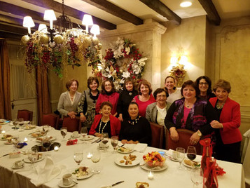 IWL Board Christmas Dinner 2018