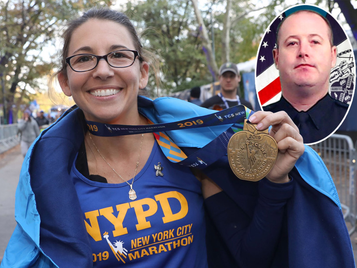 Marathon Runner, Mother of 2 Grant Recipients, Featured in the NY Post