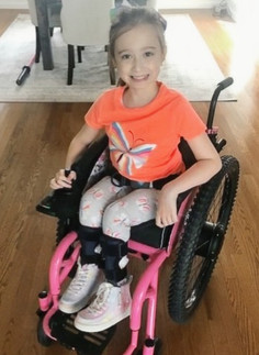 Emma Gets a New Power Chair