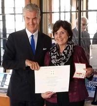 IWL Chairwoman, Linda Carlozzi, Honored with Cavaliere dell'Ordine della Stella d'Italia